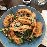 Salade et poulet