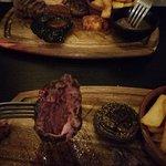 Would you look!! Kangaroo steak...