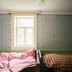 Freilichtmuseum Hessenpark/ Baugr. Osthessen Haus aus Sieblos /Bick ins eingerichtete Schlafzimm