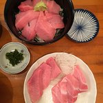 Melt in your mouth tuna belly... sugoi oishi