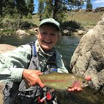 Wild rainbow trout from the Truckee River