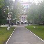 Вид от входа в МарГУ