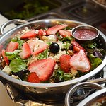 Our beautiful and delicious summer salad!