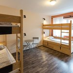 4 bed dorm with balcony