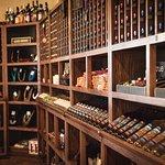 Carlos Creek Tasting Room Wine Rack