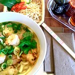 Udon Nudelsuppe