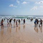 Great sandy beach