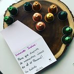 Luisa's personal welcome of Nespresso