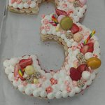 Cream Tart for a BirthDay
