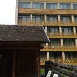 a szálloda épület