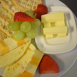 Cream Crackers and Cheese