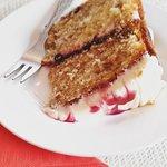 Homemade Blueberry Jam Cake