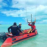Kite Provo utilized watercraft support for lessons!