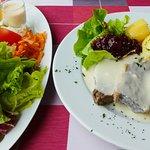 Tafelspitz mit Salatplatte € 14,90