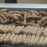 The sea of sausages ...