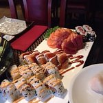 osomaki sashimi uramaki