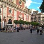 En la plaza del Salvador