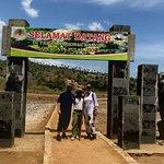 Entrance of comodo dragon island with FIDELIS