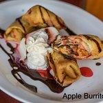 Our most popular dessert: Apple Burrito