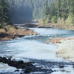 The middle reaches of the Smith River are ideal for beginers.