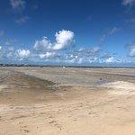 Praia dos carneiros com a maré super baixa
