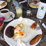 remnants of breakfast