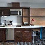Executive King Kitchenette and Work Desk