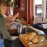 Fresh Bread and Soup for starters on Sundays