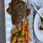 Fish & Pasta Kannas ภาพถ่าย