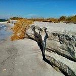 Beach Erosion along the Island