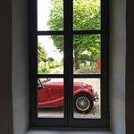Morgan+4 vue par la fenêtre