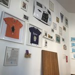 wall in the shop