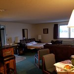 The family suite is huge! Very comfortably sleeps 6