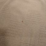 Stained linen upon check-in