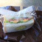 野菜サンド 550円です