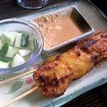 Chicken Satay...delicious!!!