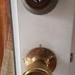 aufgebohrtes Türschloss