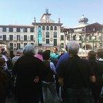 Bajamos a la Ribera a despedir en Tudela a este grupo de Valladolid.