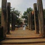 Ruins adjacent to the Thuparama stupa