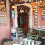 Charming interior at Vassilis Restaurant