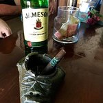 Jamison is a smooth whiskey to sip with a cigar.
