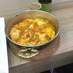 Menemen mit Tomate, Zwiebeln und Peperoni