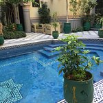 One of the beautiful riads we stayed in. The staff at the riads were so helpful and friendly.