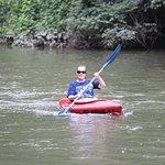 Enjoying the river!