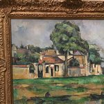 Paul Sezanne. The banks of Marne.