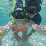 El lugar perfecto para hacer snorkel, la claridad del agua y su temperatura estan perfectas! :D