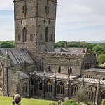Overlooking St. David's Cathedral