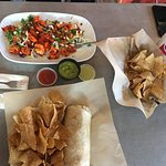 Baja Shrimp & Fish Burrito