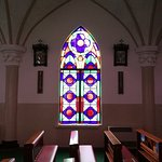 One of the stained window..simple yet elegrant