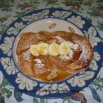 Banana Nut Bread Pancakes